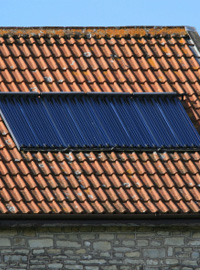 solar water heating costs